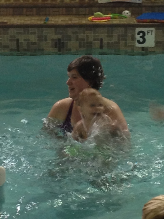 first night of lessons - WATER!